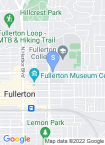 Fullerton College map