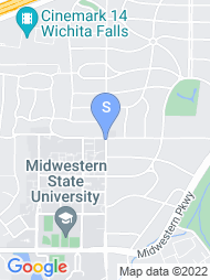 Midwestern State University map