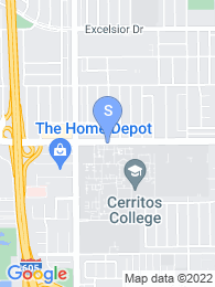 Cerritos College map