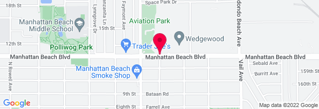 Map for Redondo Beach Performing Arts Center