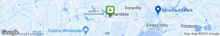 Map of American Deli