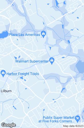 Map of Lilburn