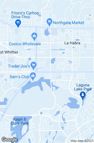 Map of La Habra