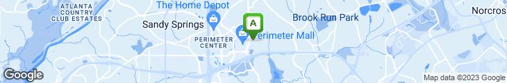 Map of Cafe Intermezzo
