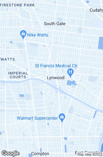 Map of Lynwood