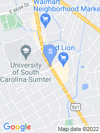Central Carolina Technical College map