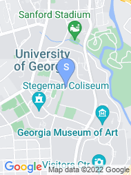 University of Georgia map