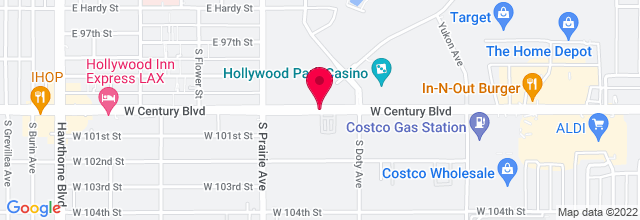 Map for HOLLYWOOD PARK CASINO