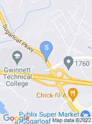 Gwinnett Tech map