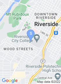 Riverside City College map