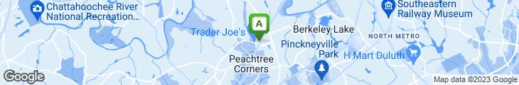 Map of J. Alexander's