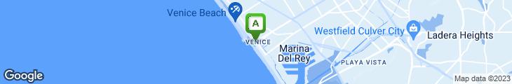 Map of James' Beach