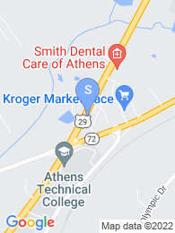 Athens Tech map