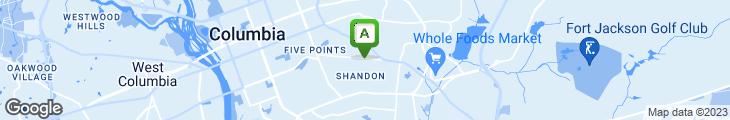 Map of Za's Brick Oven Pizza