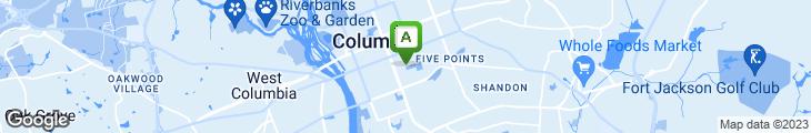 Map of Carolina Cafe