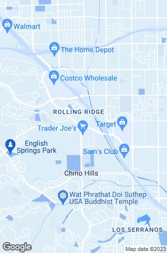Map of Chino Hills