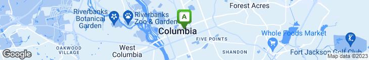 Map of Hampton Street Vineyard