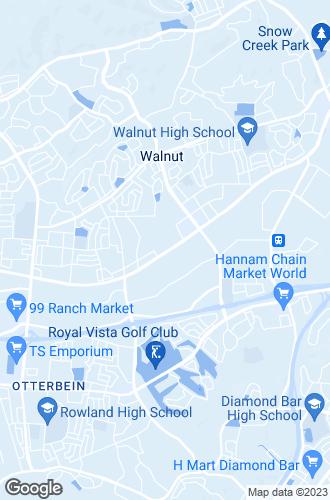 Map of Walnut