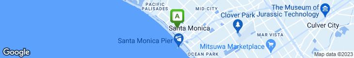 Map of Michael's Restaurant