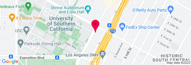 Map for Galen Center, USC
