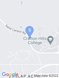 Crafton Hills College map