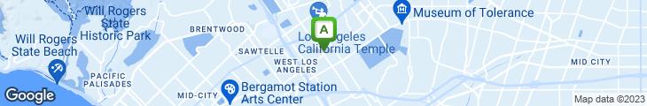 Map of LA Express Chicken