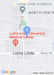 Loma Linda University map