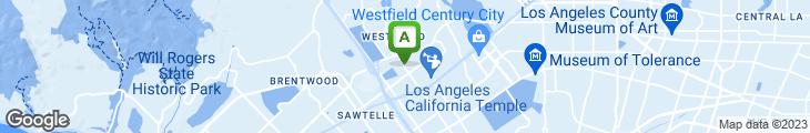 Map of Westwood Thai Cafe