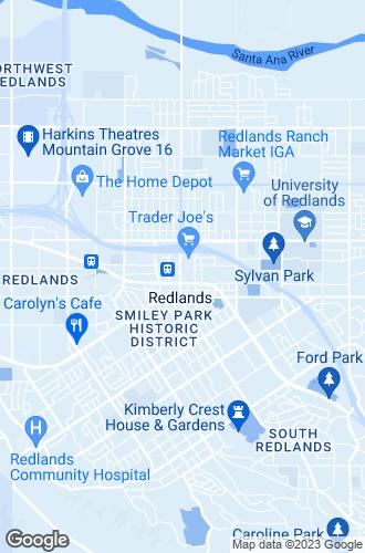 Map of Redlands