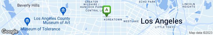 Map of Opus Restaurant