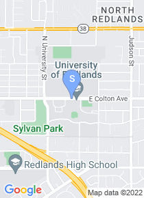 University of Redlands map
