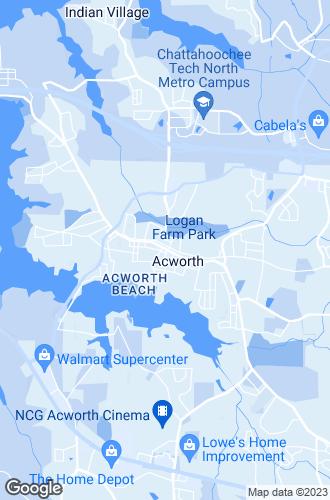 Map of Acworth