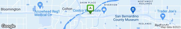 Map of Claim Jumper