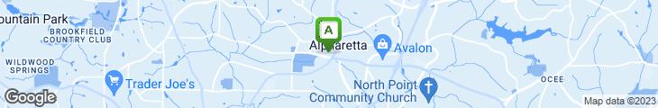 Map of Cafe Efendi