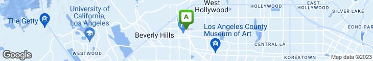 Map of Simon LA