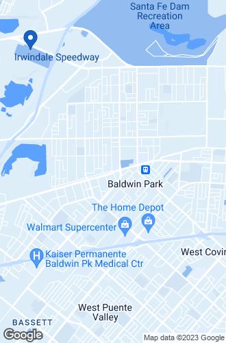 Map of Baldwin Park