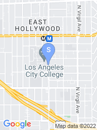 Los Angeles City College map