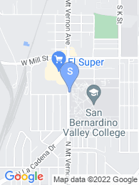 San Bernardino Valley College map