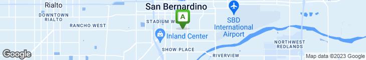 Map of El Charrito's Restaurante