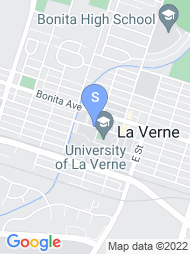 University of La Verne map