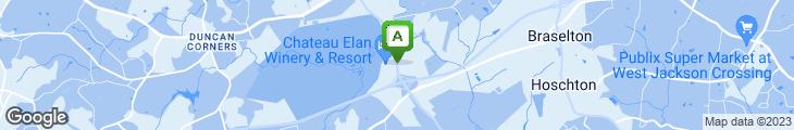 Map of China Garden Chinese Restaurant