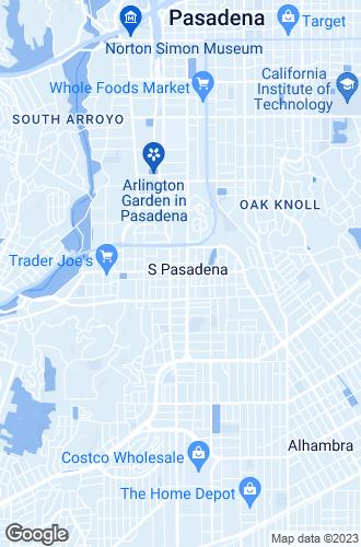 Map of South Pasadena