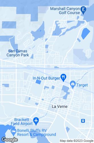 Map of La Verne