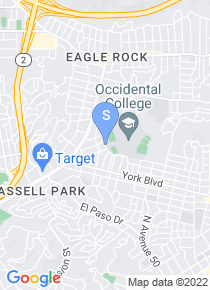 Occidental College map
