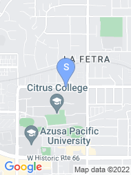 Citrus College map