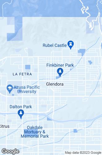 Map of Glendora