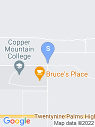 Copper Mountain Community College map