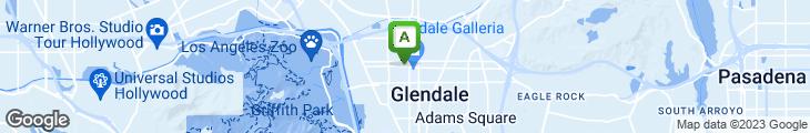 Map of Gloria Jean's Gourmet Coffee