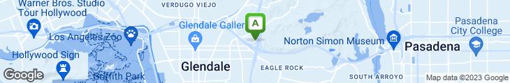 Map of Minx Restaurant & Lounge