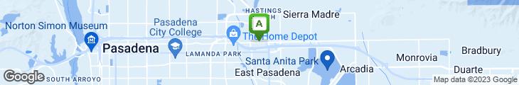 Map of Panda Inn